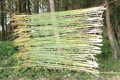 Sherry Chang, reed weaving, Boisbuchet