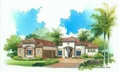 Napoli Elevation 'C' - Lennar Homes Treviso Bay Naples FL