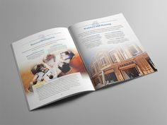 Regional Growth Partnership CEDS Brochure Granite Bay Graphic Design