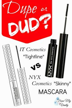 It's an exciting NEW series on From My Vanity -- Dupe or Dud! See if you can save $17 by going with the drugstore option, or if it's worth the extra money to snatch the high end one. :-D