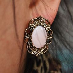 Vintage Retro Earrings. $1.50 and free shipping!! My friend's online store is a dangerous place for this jewelry addict!! lol :)