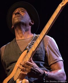 Marcus Miller - Seattle, September 2017. photo by Shirley Chapman