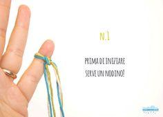 Quandofuoripiove: Il braccialetto dell'amicizia (più facile che c'è) da far fare ai bimbi