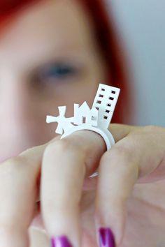 DIY | Stackable Shrink Plastic Rings original