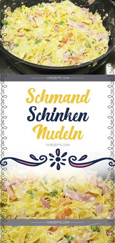 Schmand Ham Pasta – Simple Recipes Best Picture For Shellfish Recipes dinners For Your Taste You are looking for something,