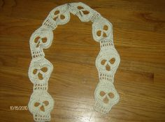Ravelry: Project Gallery for Day of the Dead Crochet Skull pattern by Darlene R. Harris
