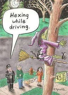 Hexing While Flying-Halloween