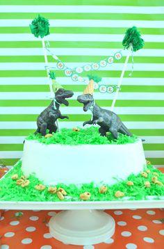 Karo's Fun Land: A Dino-Riffic Birthday Party