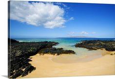 Hawaii Maui, Makena, Maui Wai Or Secret Beach