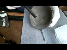 How to kintsugi, applying silver, a la carte - YouTube