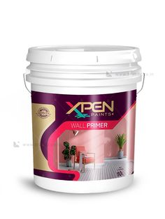 Xpen wall primer Label design by Brandz Design Package, Label Design, Branding Design, Paint Buckets, Paint Brands, Packaging Design Inspiration, Paint Colors, Household, Packaging