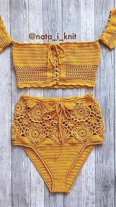 Free Swimsuit Summer Crochet Pattern Start The Season Properly! New 2019 – Page 26 of 35 Over the next few weeks, I will be sharing collections of free summer crochet patterns to help you prepare for the beginning of… Continue Reading → Crochet Shorts Pattern, Crochet Bra, Crochet Bikini Top, Crochet Motifs, Crochet Shirt, Crochet Clothes, Crochet Patterns, Crochet Lingerie Pattern, Knitted Swimsuit