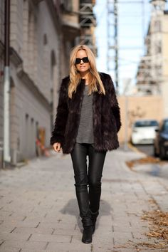 jacket+ hunkydory leather pants
