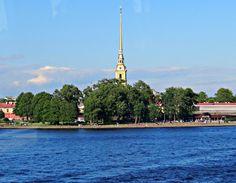 Szentpétervár, Péter Pál erőd és székesegyház