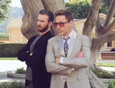 Chris and Robert. Because.