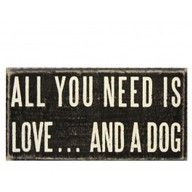 love and a dog :)