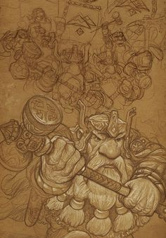 Sketchbook 2014 Work - Justin Gerard.