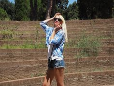 One blondie life: OOTD: Rome