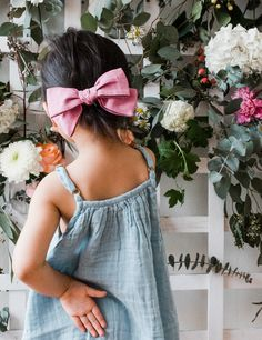 Introducing, the Tea Bow - Wunderkin Co. Handmade hair bows for both kids and adults. The perfect accessory for your little girls free spirited style and mini fashion.