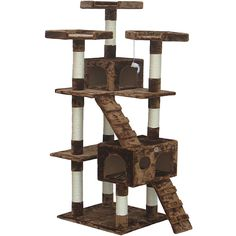 Go Pet Club 72 inch Cat Tree - Overstock™ Shopping - The Best Prices on Go Pet Club Cat Furniture