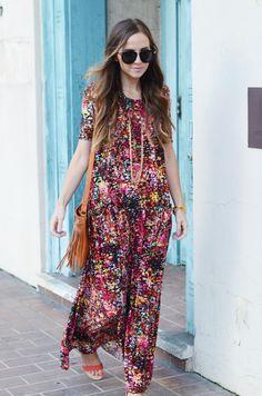 Make your own Spring Maxi // DIY Maxi Dress Tutorial from MerricksArts.com on The Creative Spark