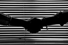 One of many great free stock photos from Pexels. This photo is about silhouette, trust, window blinds Nikon D500, Monochrome Photography, White Photography, Photography Portraits, Improve English, Circular Economy, Licence Lea, Good Neighbor, Blinds For Windows