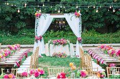 Magic Kingdom Lawn Wedding Reception at the Disneyland Hotel