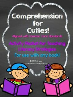 Looking for fun printable worksheets and activities to use to help improve your little learners' reading comprehension? This is a newly redesigned file similar to my best-selling Reading Comprehension Companion! This printable packet of literacy activities is designed with the little ones in mind because it includes adorable and colorful graphics, kid-friendly fonts and fun borders on every page!