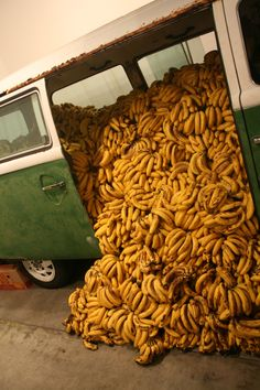 Writing Prompt: Why is this van full of bananas?