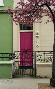 toughonsprings:  [Notting Hill, Blossom & Door]