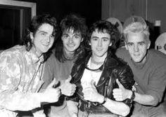 Les McKeown, Ian Mitchell, Pat McGlynn and Stuart Wood