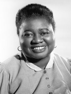 """Hattie McDaniels 1892-1952   """"I did my best and God did the rest"""" I LOVE THIS WOMAN."""