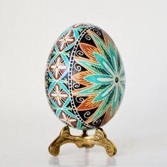 Easter eggs pysanky hand painted Ukrainian Pysanky Easter | Etsy Easter Art, Easter Crafts, Carved Eggs, Easter Egg Designs, Batik Art, Ukrainian Easter Eggs, Blue Eggs, Easter Traditions, Egg Art