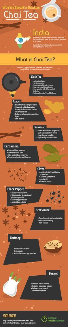 Chai tea is a drink with wonderful properties that dates back thousands of years.                                                                                                                                                     More