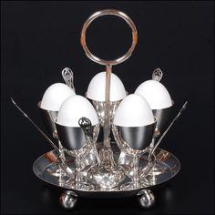 Antique Sheffield Silver Plate Egg Cup Cruet Set by TomorrowsAntiques2 on Etsy https://www.etsy.com/listing/174327233/antique-sheffield-silver-plate-egg-cup