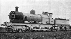 This freight locomotive was built for the English Great Western Ten-Wheel . It had cylinders diameter and stroke of 24 The total weight of the engine and tender was 320 pounds Locomotive Diesel, Steam Locomotive, Train Car, Train Travel, Train Posters, Steam Railway, Old Trains, British Rail, Train Engines