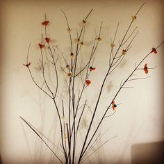 Varas de Arbol con flores Wreaths, Ideas, Home Decor, Home, Flowering Trees, Blue Prints, Flowers, Decoration Home, Door Wreaths