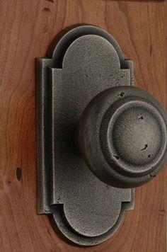 Knob and Escutcheon #MontanaCollection #InteriorKnobSet #Door #DoorHardware #ClassicBrass