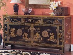 Chinoiserie Sideboard