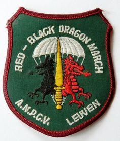 Org Patch: Écusson para commando Belge - ABL - parachutiste