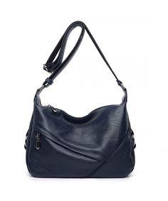 e7a27543b942 BIG SALE-AINIMOER Women s Large Leather Vintage Shoulder Bags ...
