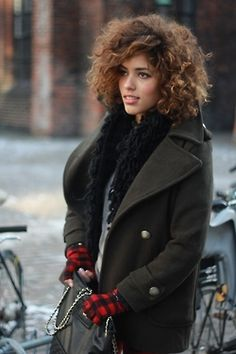 Curly hair love