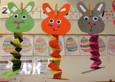 Pasen kleuters | Juf Anke thema en lesidee Easter Bunny, Halloween, School, Spring, Kids, Healthy Life, Gift, Bricolage, Noel