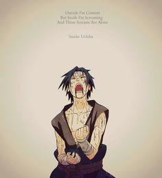 sasuke, anime, and naruto image Naruto Uzumaki, Anime Naruto, Sad Anime, Naruto And Sasuke, Kakashi, Anime Manga, Sasunaru, Wallpaper Naruto Shippuden, Naruto Wallpaper