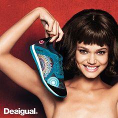 Fashionable women's footwear and accessories Desigual fall-winter 2014 Boho Fashion, Fashion Shoes, Girl Fashion, Womens Fashion, Zapatos Shoes, Shoe Gallery, Walk This Way, Women's Accessories, Fashion Models