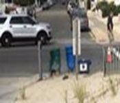 A bomb exploded in Seaside Park, New Jersey, on Saturday along the route of a…