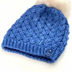 Easy Knitting Patterns, Knitting Designs, Knit Crochet, Crochet Hats, Cable Knit Sweaters, Caps Hats, Knitted Hats, Knitwear, Winter Hats