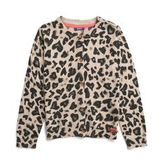 Mexx Kids Girls Animal Knit Cardigan