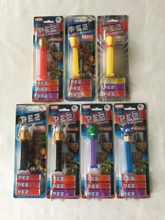 Collectibles Advertising choose By Name From Drop Down Below Big Clearance Sale Marvel Avengers Pez Dispenser