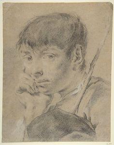 Boy With a Staff -  Giovanni Battista Piazzetta